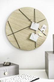 Eine Pinnwand aus Holz selber machen