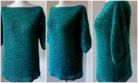 Pullover häkeln ganz unkompliziert