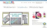 Windeltaschen - Wickeltaschen - Wickelunterlagen - Marianne näht