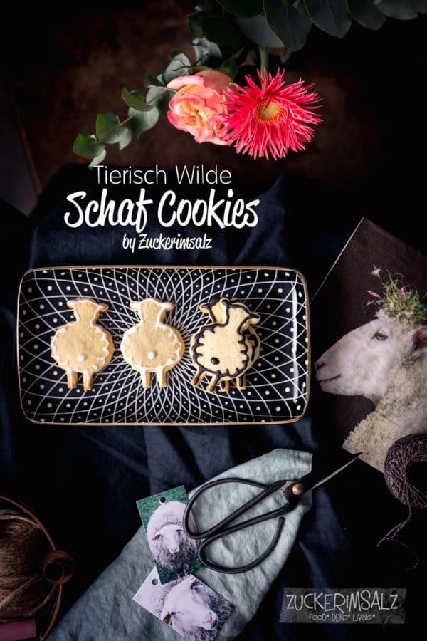 Tierisch wilde Schaf Cookies