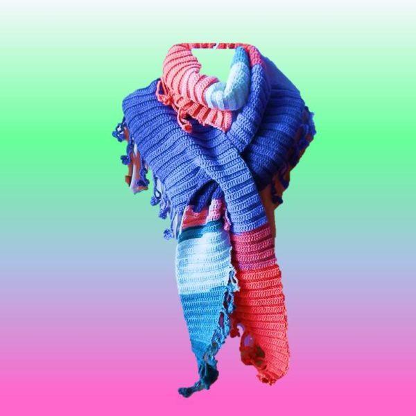 Blümchen  Schal