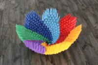 3D-Origami-Schale