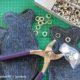 {Anleitung} Fisch-Deko DIY aus Jeans | Download Schablone