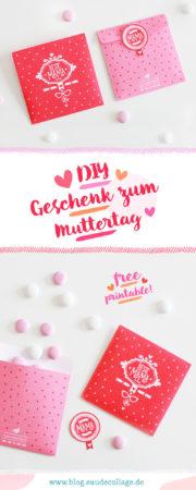 DIY GESCHENKTÜTE ZUM MUTTERTAG / FREE PRINTABLE