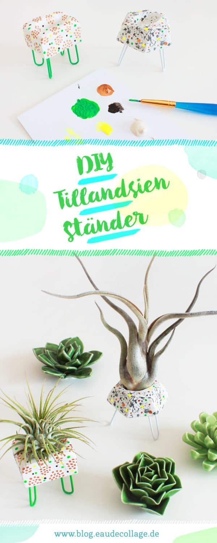 DIY TILLANDSIENSTÄNDER / TILLANDSIENHALTER