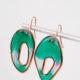 DIY-Statement-Ohrringe aus Kunstharz und Aludraht