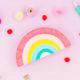 DIY Regenbogen-Utensilo für den Arbeitsplatz