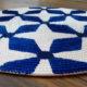 Bedruckter Teppich aus Baumwollkordel