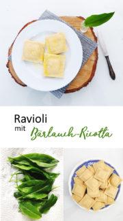 Frühlingsrezept: Ravioli mit Bärlauch-Füllung