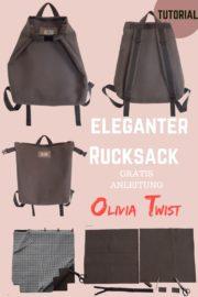 Eleganter umwandelbarer Rucksack – Tutorial für Anfänger