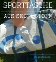 Super-einfache Badetasche/ Sporttasche, Gratis Anleitung & Maße