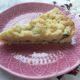Klassischer Streuselkuchen mit Pudding und Schokostückchen