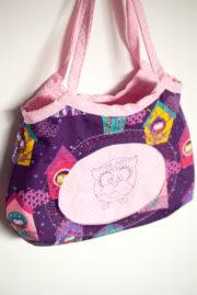 Romantische Mädchentasche in 2 Varianten (gratis!)
