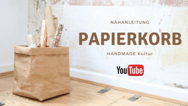 Nähanleitung - Papierkorb aus SnapPap
