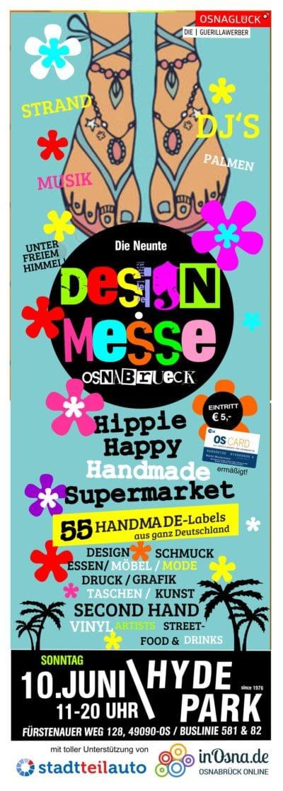 DESIGNMESSE OSNABRÜCK / DeMO9- HIPPIE HAPPY HANDMADE SUPERMARKET