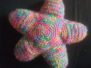 Rainbow Star Pillow