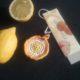 Lesezeichen Zitrone
