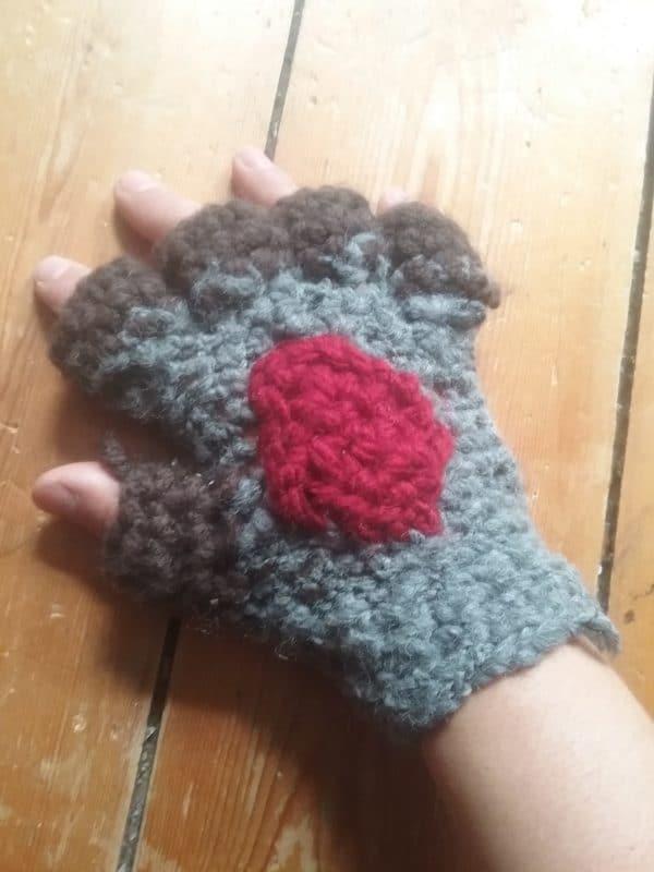 Sieht aus wie Links Handschuh aus Legend of Zelda