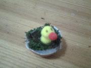 Küken im Ei basteln für Ostern