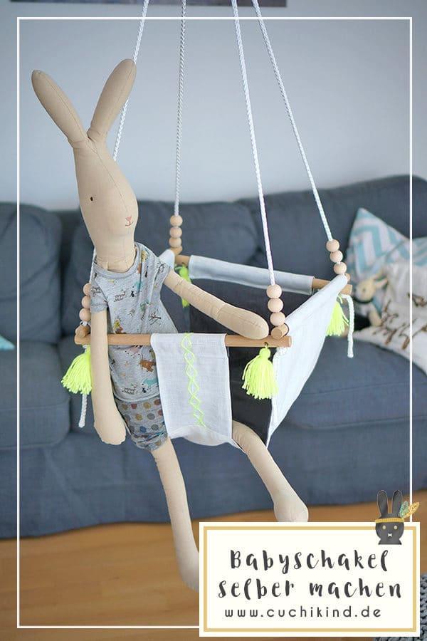 Babyschaukel selber machen