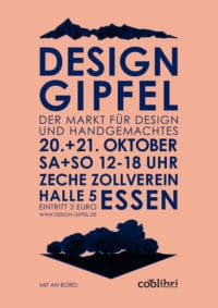 Design Gipfel- Der Markt für Design und Handgemachtes in Essen