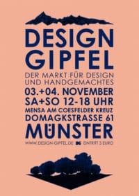 Design Gipfel- Der Markt für Design und Handgemachtes in Münster