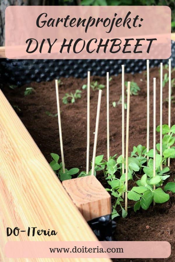 Gartenprojekt: DIY Hochbeet