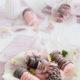 Erdbeer-Minz-Eis