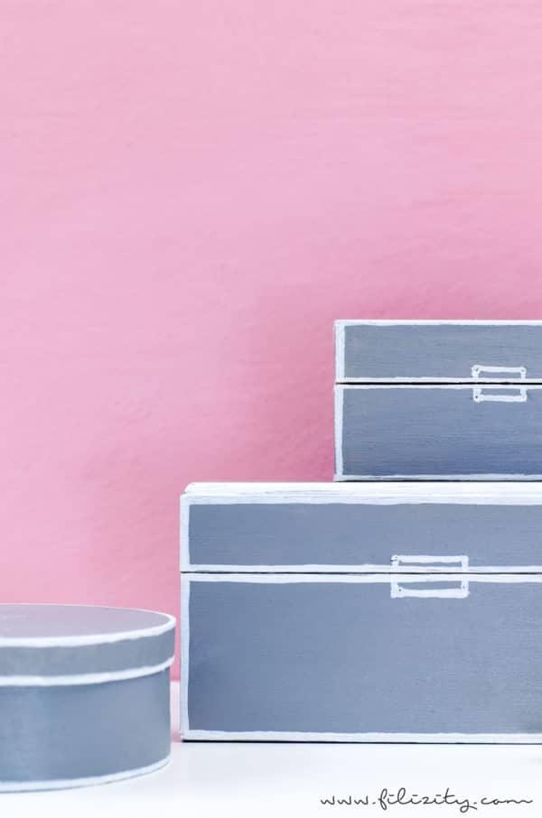 DIY Aufbewahrungsboxen Upcycling