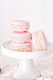 Macarons mit Pistazienlikör-Füllung