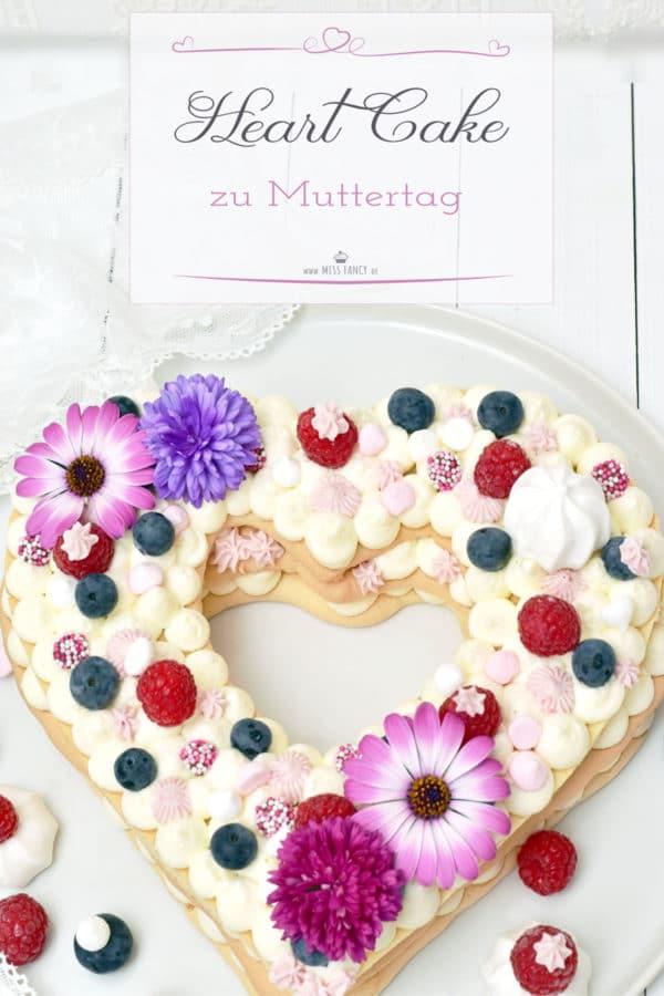 Kuchentrend 2018 – Letter Cake in Herzform