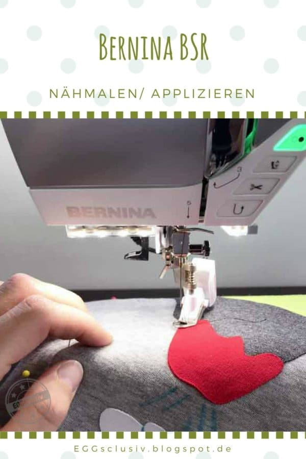 Nähmalen mit dem Bernina Stitch Regulator (BSR)