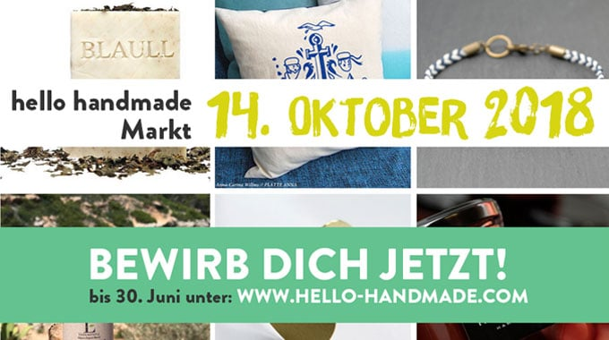 hello handmade bewerbung