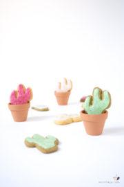 Kaktus Cookies mit bizzeligem Brausefrosting backen + Video | Mohntage