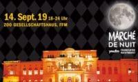 Marché de Nuit - Frankfurter Nachtmarkt am 14.9.19