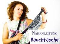 Anleitung Gürteltasche nähen / Freebook