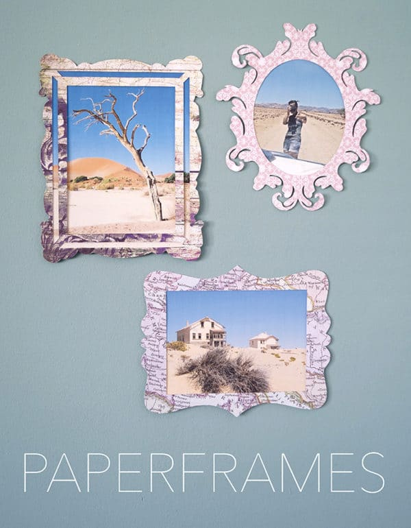 Paperframes – Bilderrahmen aus Papier