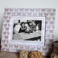 DIY Bilderrahmen aus Pappe basteln