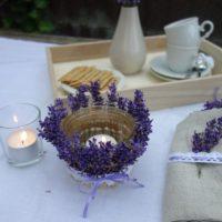 DIY Lavendel Windlicht basteln - Einweckglas Upcycling