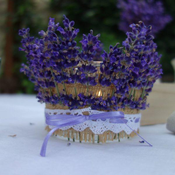 diy lavendel windlicht basteln einweckglas upcycling handmade kultur. Black Bedroom Furniture Sets. Home Design Ideas