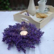 DIY Lavendelkranz selber binden