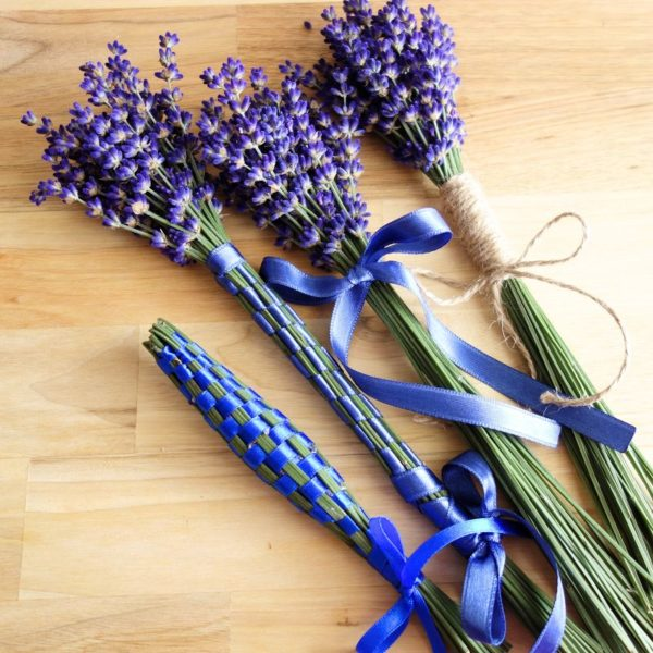 DIY Lavendelkolben flechten