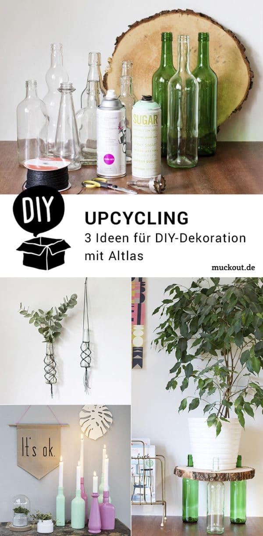 Upcycling-DIY: Drei Ideen für Altglas-Upcycling