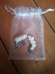 Glasperlenspielerei- Ohrringe