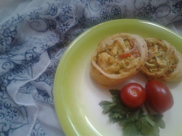 Sommer- Picknick- Idee: Zucchini- Feta-Schnecken