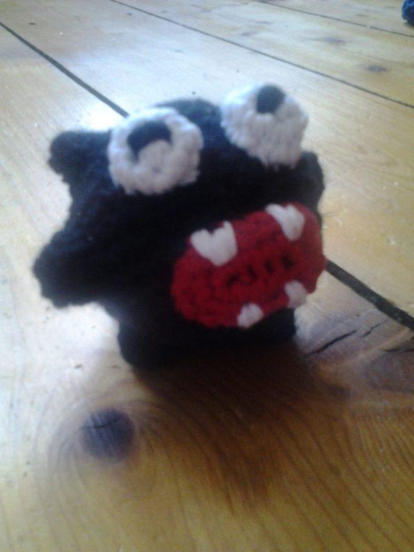sieht aus wie Fuzzy (Super Mario)