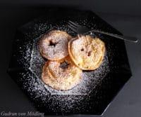 Gebackene Apfelringe (Apfelradln)