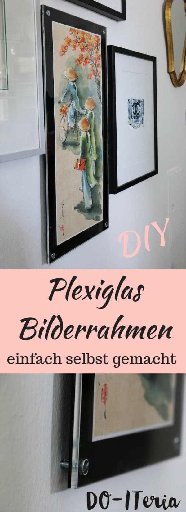 diy plexiglas bilderrahmen handmade kultur. Black Bedroom Furniture Sets. Home Design Ideas