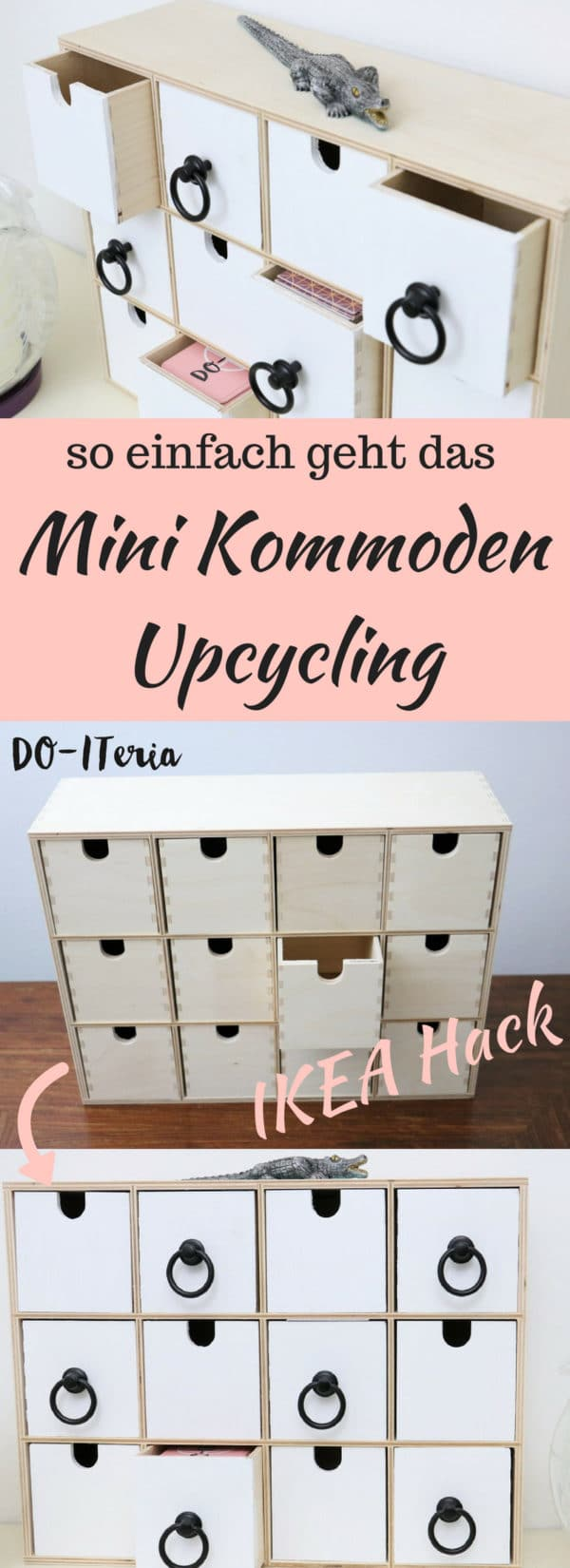 Upcycling einer Mini Kommode