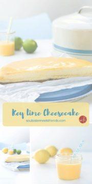 Frisch und zitronig: Key Lime Cheesecake